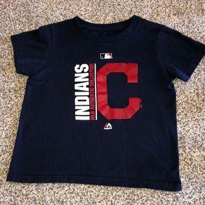 Cleveland Indians size 4T t-shirt - NWOT